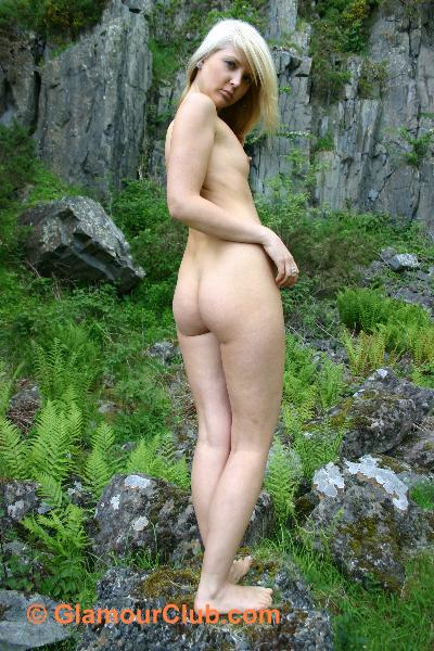 Oksana G naked showing off her bum