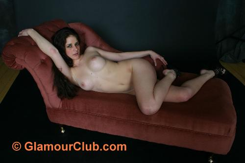 Rebecca Bailey naked on the couch