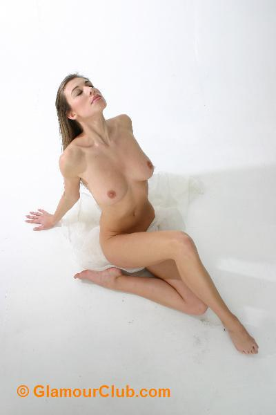 Maria Eriksson naked sitting down
